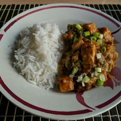 Sauté de tofu piquant